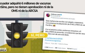 Ecuador vacuna