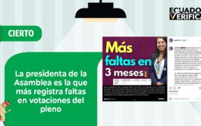 FAKE NEWS ASAMBLEA ECUADOR