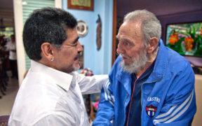 Fidel Castro Maradona Comunismo